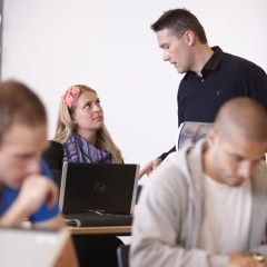 Undervisningssituation med lærer