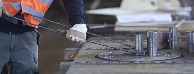 Industriel fremstilling af betonvarer/elementer