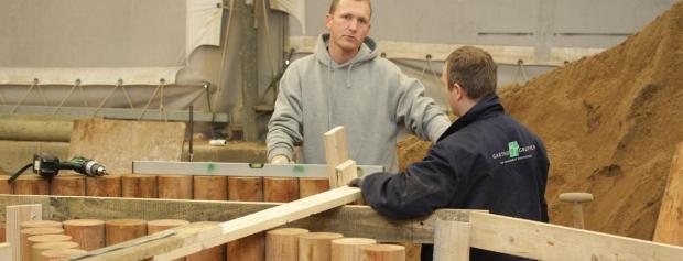 kursus i Bygge- og anlægsopgaver i lettere materialer