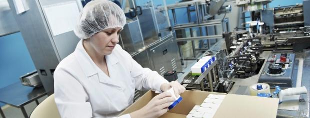 amu i produktion af medicinalprodukter