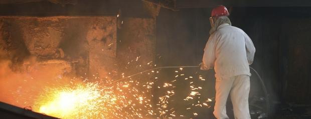amu i støberi- og metalskrotningsindustri