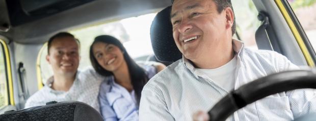 amu i personbefordring med taxi