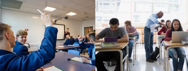 Gymnasier og erhvervsfaglige skoler