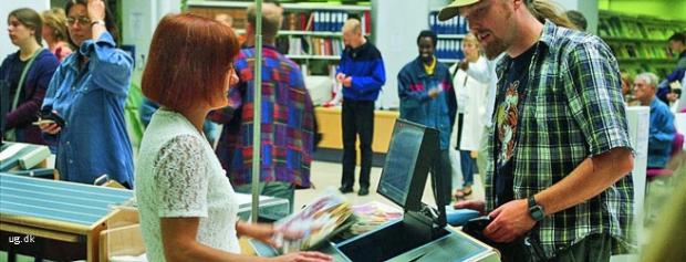 Foto af Biblioteksassistent