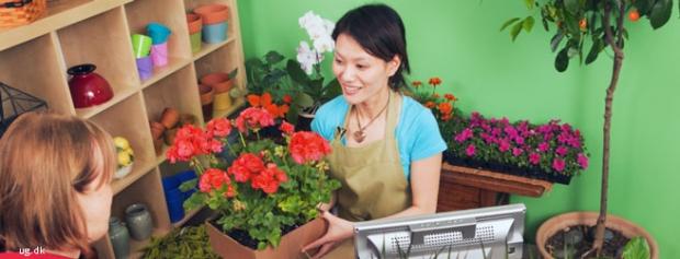 Foto af Blomsterhandler
