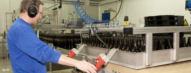 Foto af Bryggeriarbejder
