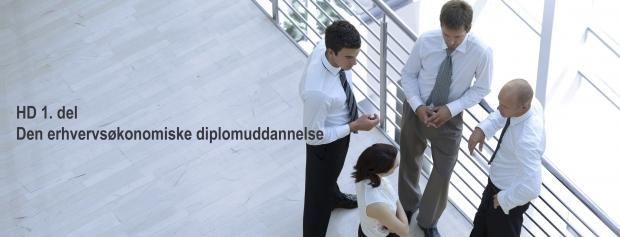 HD 1. del, den erhvervsøkonomiske diplomuddannelse