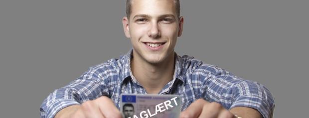 EUD-elev med svendebrev