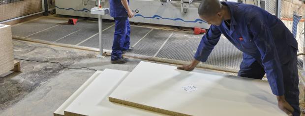 Byggemontagetekniker med plader til vægelementer