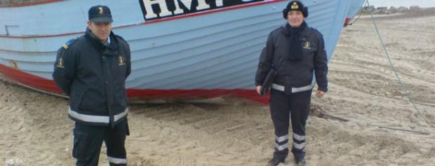 Foto af Fiskeribetjent