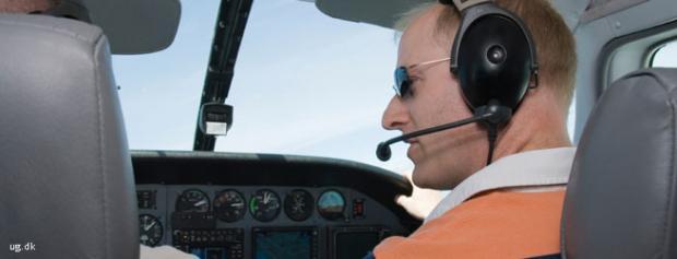 Foto af Flyveinstruktør
