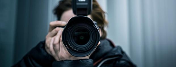 Foto af fotojournaliststuderende © Danmarks Medie & Journalisthøjskole