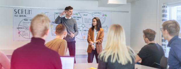 Studerende på uddannelsen i it-arkitektur