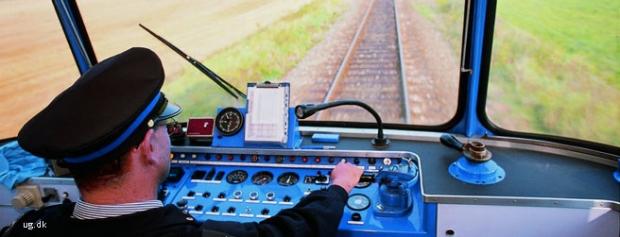 Foto af Lokomotivfører