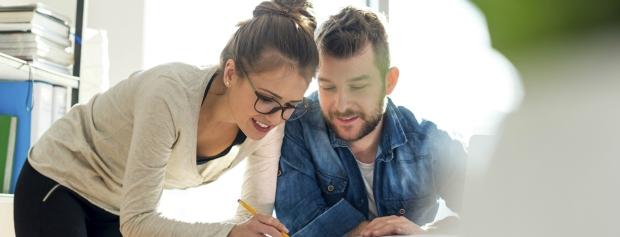 Realkompetencer - ung mand og kvinde