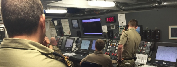 uddannelsen til kontrol- og varslingsofficer i flyvevåbnet