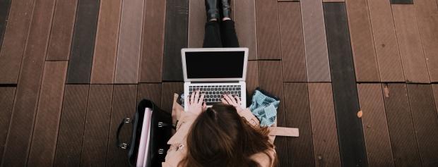 Online på første semester