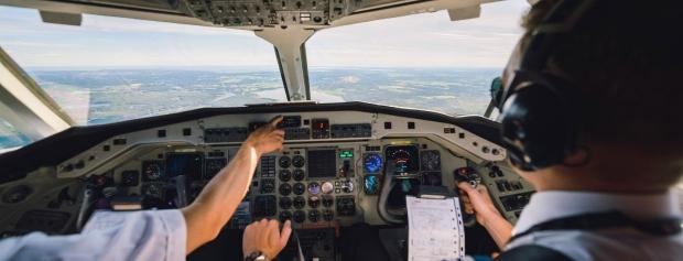 Foto af pilot