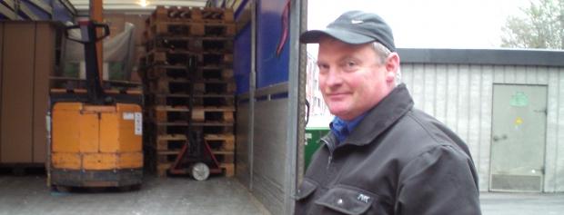 interview med lastbilchauffør
