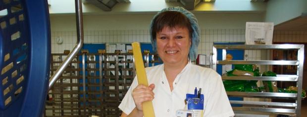interview med ernæringsassistent på hospital