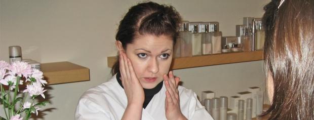 Foto af kosmetiker Anja Larsen