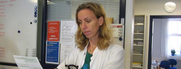 interview med læge på skadestue