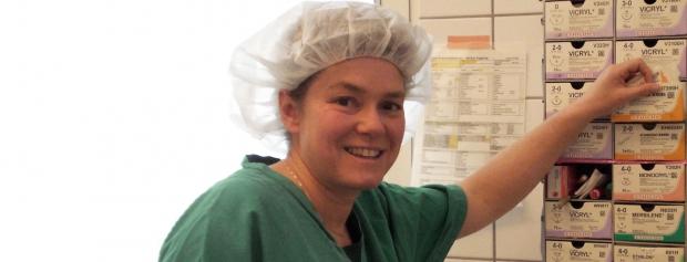 interview med operationssygeplejerske