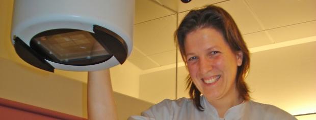 interview med radiograf på hospital