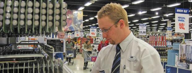 interview med non food salgsleder i supermarked