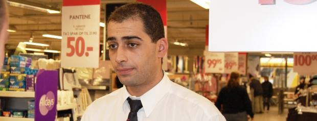 interview med souchef i supermarked