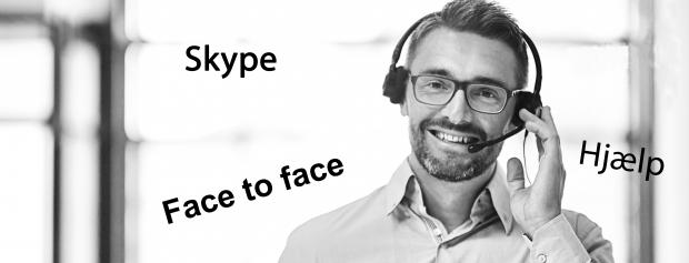 Vejlednng via Skype