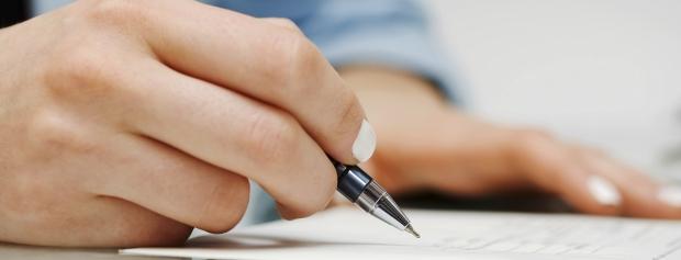 Underskriftside