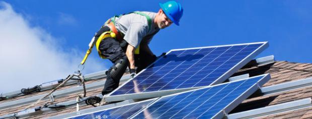 Foto af Vvs-energitekniker