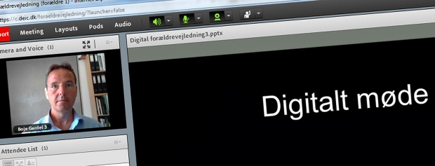 Digitale møder om at søge i kvote 2